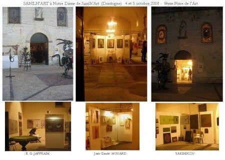 SANILH'ART 2008 -  (Dordogne)