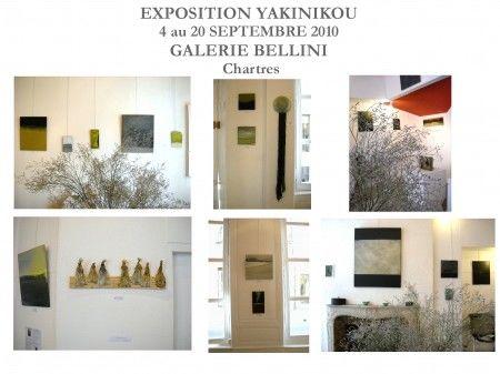 2ème EXPOSITION DE YAKINIKOU A L' ESPACE  GALERIE BELLINI