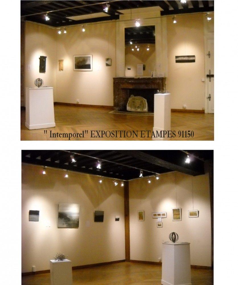 """""""INTEMPOREL"""" exposition personnelle   ETAMPES 91    2013"""