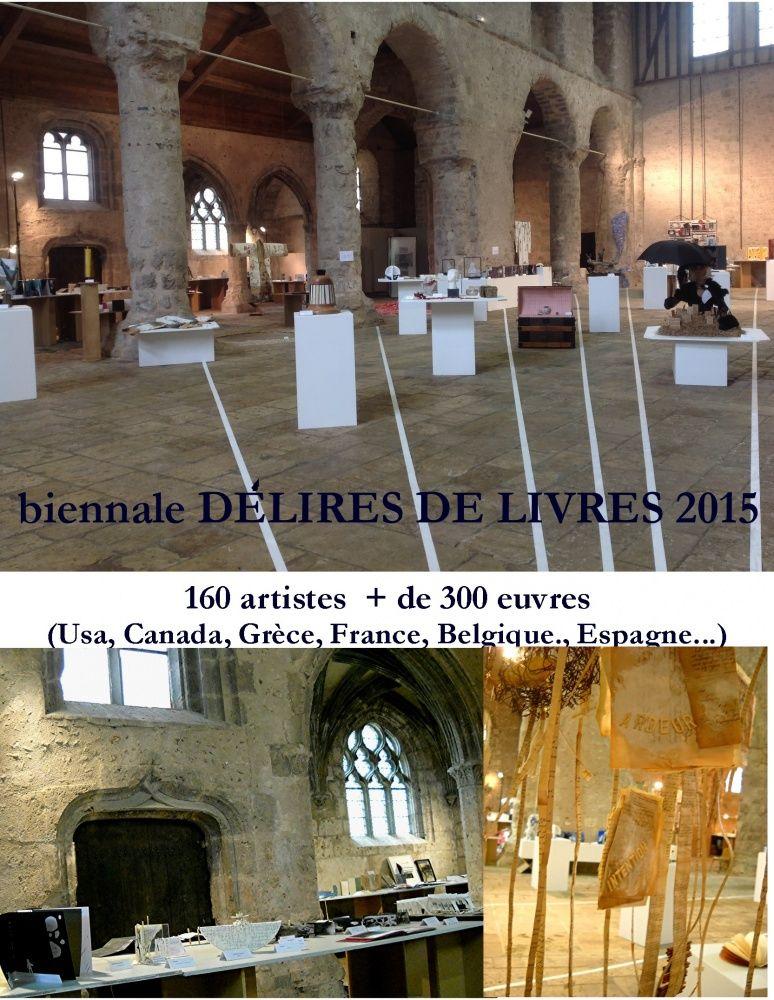 BIENNALE DELIRES DE LIVRES 2015