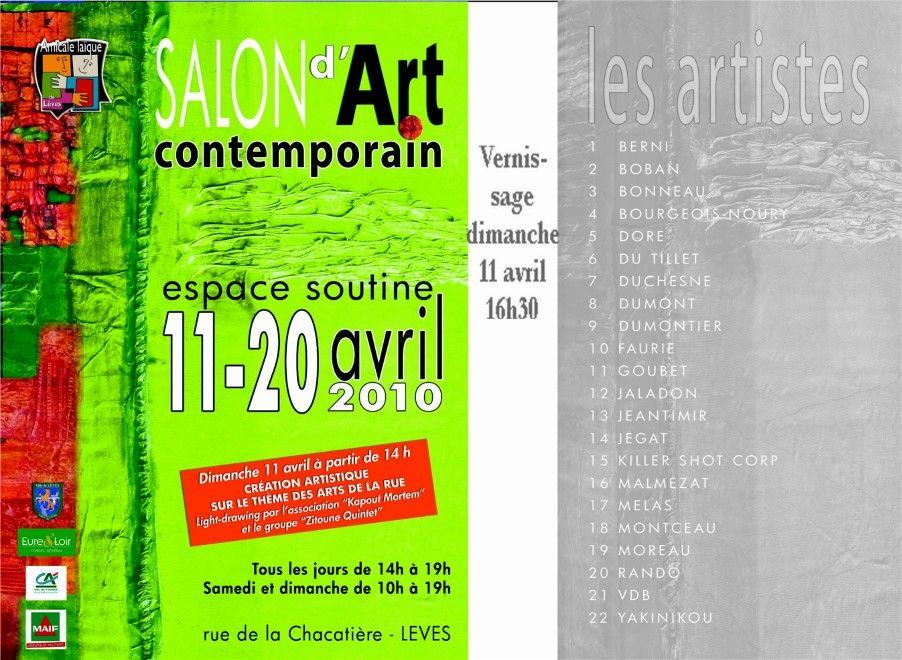 SALON ART CONTEMPORAIN 2010